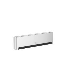WATER FALL Cascade spout with individual jets for wall mounting - polished chrome
