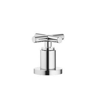 Two-way diverter for deck-mounted tub installation - polished chrome
