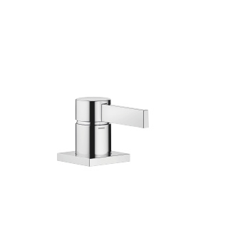 Single-lever basin mixer - polished chrome