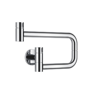 POT FILLER Cold water valve - polished chrome