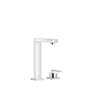 BAR TAP Two-hole mixer with individual flanges - polished chrome