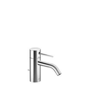 META SLIM Single-lever lavatory mixer with drain - polished chrome