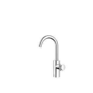 META PURE Single-lever lavatory mixer with drain - polished chrome