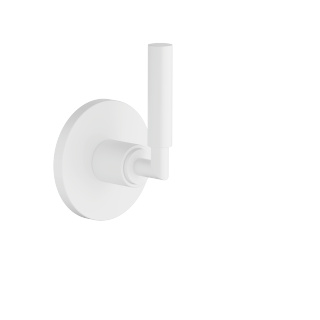 Wall mounted two- and three-way diverter trim - white matte
