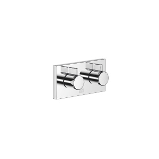 xGATE Mixer valve with volume control for wall mounting - polished chrome