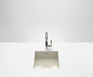 Single sink - high-gloss sand